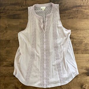 Anthropologie NWOT Blush Tank Blouse.